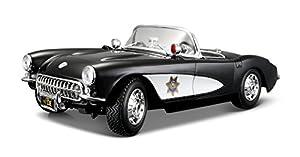 Maisto 531380 Chevrolet Corvette 57 Police - Coche