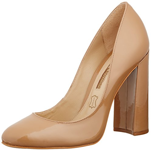 Buffalo Zs 6110-15 Patent Leather, Escarpins femme Beige - Beige (AMENDOA 01)