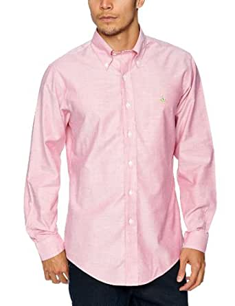 Brooks Brothers Classic Oxford Men's Shirt Red X-Large
