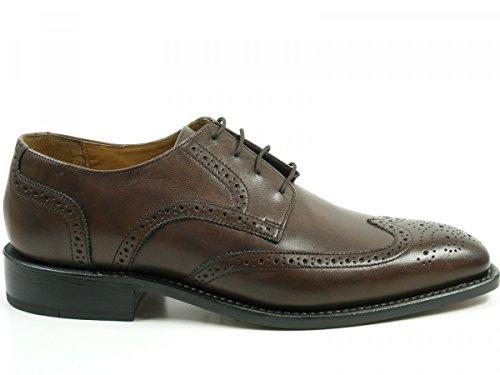 J. Briggs Goodyear homme Oxford Chaussures basses de laçage Braun