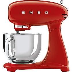 Smeg SMF03CREU Robot de cuisine 10 vitesses en acier inoxydable Crème