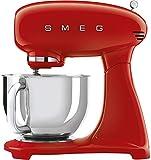 Smeg Robot De Cocina SMF03CREU Crema 10 Velocidades, Acero Inoxidable
