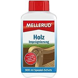 Mellerud Holz Imprägnierung 500 ml farbloser Schutz für Harthölzer