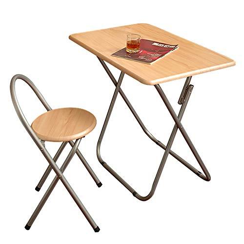Betty Tabelle Klapptisch Set und Stuhl spart Platz 2 Stück Küche Metallrahmen Garten Camping Tisch und Stühle - Küche Platz-tabelle