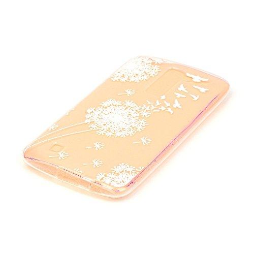 Per iPhone 7 Plus Custodia,Mobilefashion Custodia in Ultra Sottile TPU Protettiva Case Cover per Apple iPhone 7 Plus 5.5 inch (lupo M) + Pellicola Protettiva Dono Gratuito + Colore casuale Protezione  Uccelli tarassaco M