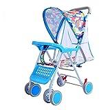 GFGF Kinderwagen, Sitz- und Liegewiese, atmungsaktiver Kinderwagen, Leichter Faltsportwagen,7#