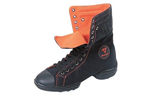 De Dança Salas De Preto Hop Star1561 Treinamentos Sapatos Sapatilha Dança Único Casco Embaralhar Aptidão De 2 Hip Divididos Ginástica De Laranja Lindy De Dança Esporte qaCwSREx1