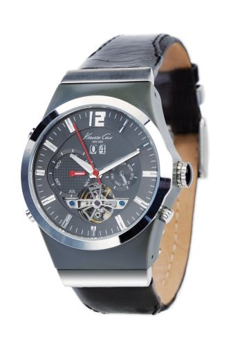 kenneth-cole-kc1503-reloj-analogico-de-caballero-automatico-con-correa-de-piel-negra