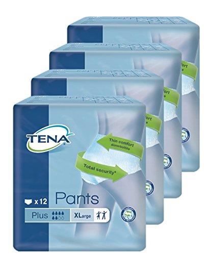 TENA Pants Plus - Gr. Extra Large - PZN 07515227 - (48 Stück). -