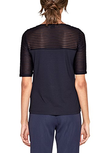 s.Oliver BLACK LABEL Damen T-Shirt blue energy