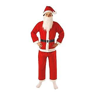 Guirca – Disfraz Papá Noel Infantil, Color Rojo
