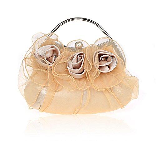 Ms. borsa fiori/borse squisiti/pacchetto nuziale/pacchetto banchetto di moda/borse da sera di alta qualità/pacchetto abito da damigella d'onore-C B