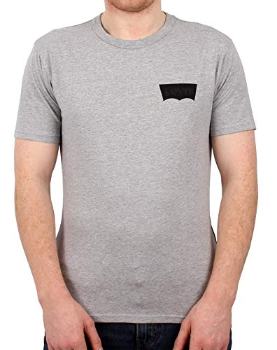 Levis Skate Graphic SS Tee LSC Heather Grey S -