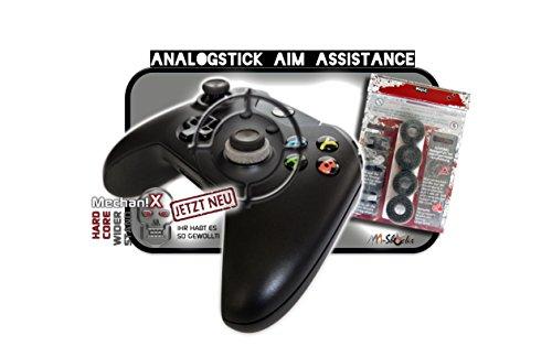 """NEUSTE AAA-Shocks (Analogstick Aim Assistance Stossdämpfer Zielhilfe für FPS Spiele): Spezial Edition \""""Mechanix\"""" Xbox ONE"""