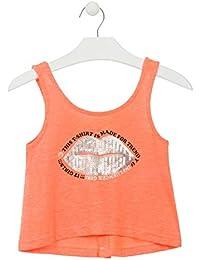 549606881 losan Camiseta de Tirantes Abierta en la Espalda con Botones para Chica  914-1022