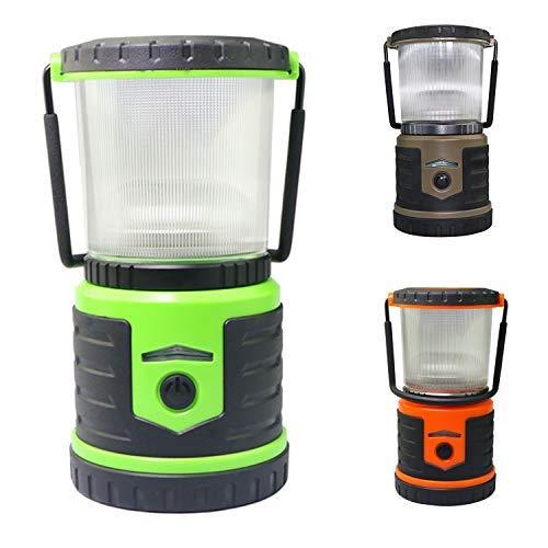 LED Laterne, wasserfeste LED Camping-Laterne Taschenlampe, hält 600 Stunden, D-Zelle, batteriebetriebene Laterne für Zuhause, Notfälle, Outdoor, Straßengebrauch, Hurrikane, Ausfälle, Sturm