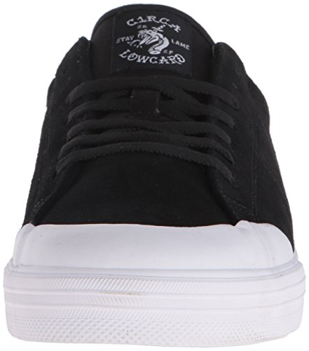 Rollers chuh Env. Fremont LOWCARD C1rca Skateschuhe noir/blanc