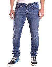 Dirk Bikkembergs Hombre CQ61BFJSB093155B Azul Algodon Jeans