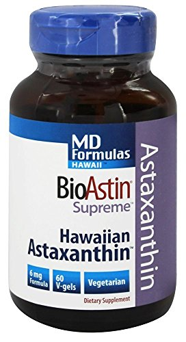 Nutrex Hawaii - formule BioAstin suprema MD - 60 Softgels vegetariani - 41E6l7z6jPL