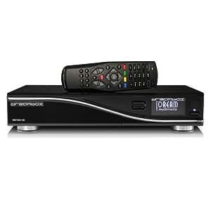 Dream-Multimedia DM 7020 HD AV-Receiver (HDMI, DVB-T/DVB-C Tuner, Linux, USB 2.0) schwarz