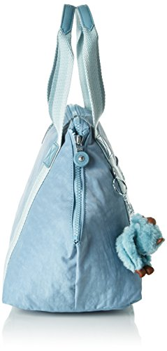 Kipling Damen Art Small Schultertaschen, Rot (Coral Rose Iconic 06M), 44 x 27 x 18 cm Pastel Blue C