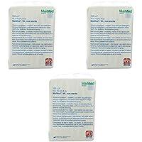 3 x 100 Stück Vliesstoffkompressen MaiMed unsteril 6 fach 10 x 10 cm Kompressen preisvergleich bei billige-tabletten.eu