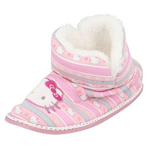 Ragazze Hello Kitty pantofole 320/3193, rosa (Pink), 36 EU