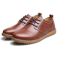 WZG scarpe di cuoio casuali degli uomini del New England