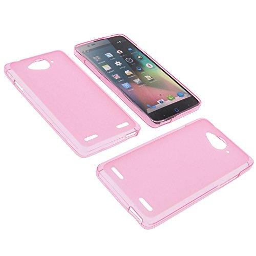 foto-kontor Tasche für ZTE Blade L3 Plus Gummi TPU Schutz Hülle Handytasche pink