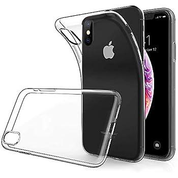 Custodia iPhone XR otumixx Trasparente iPhone XR Cover Morbida