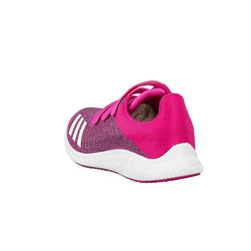 adidas Fortarun Cf K, Scarpe da Ginnastica Unisex – Bambini Rosa (Rosimp/Ftwbla/Rosfue)