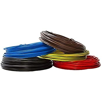 Cable FLEXIBLE H07V-K 1 x 1,5 mm/² 50 m Negro