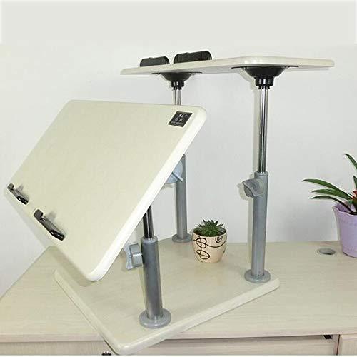 Laptoptisch Wandtisch Hubtisch Klapptisch Schreibtisch Schlafsaal Faulenzertisch Laptopablage Wandhalterung Schreibtisch Konverter mit Monitor Höhenverstellbar Ergonomischer, Freistehender, Einfacher -