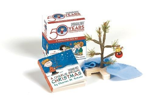 (A Charlie Brown Christmas Kit: Book and Tree Kit: A Book-and-tree Kit (Miniature Editions))