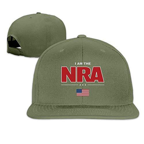 Zhgrong Adjustable Baseball Hat Snapbacks Hat Baseball Caps Trucker Hat - I Am The NRA Army Cap
