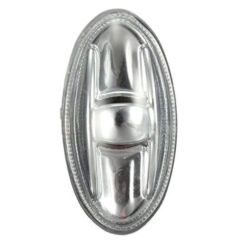 Preisvergleich Produktbild PRENKIN Seitenmarkierungsanzeige Repeater Bernstein Blinker Licht Ersatz für Peugeot 108 107 206 1007 407 Partner