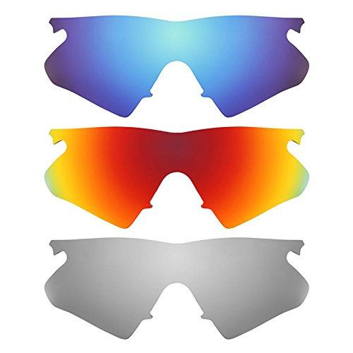 Revant Ersatzlinsen für Oakley M Frame Heater Polarisiert 3 Paar Kombipack K014