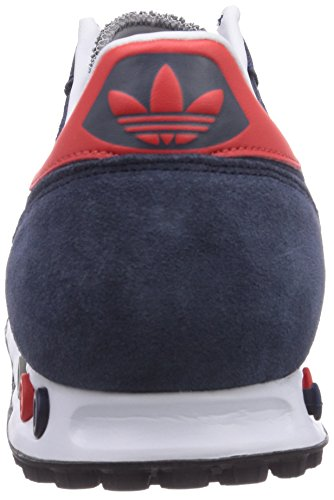 Adidas La Trainer, Sneakers Basses Homme Multicolore (collegiate Navy/red/ch Solid Grey)