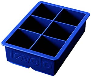 Tovolo King Cube Ice Trays, Blue