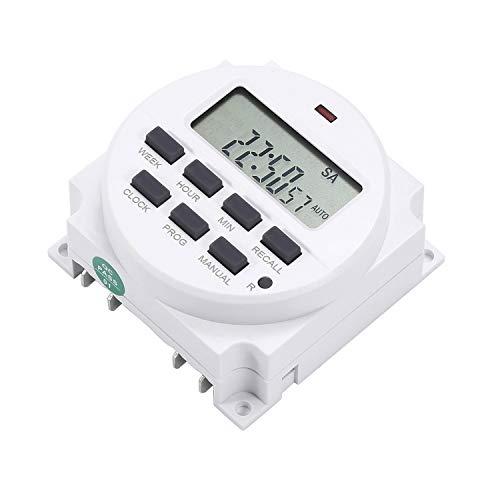 Digitale Power Control (DANMEI TM618 Power Relaisschalter LCD Digital Control Power Programmierbarer Timer 220 V / 12 V / 110 V / 24 V)