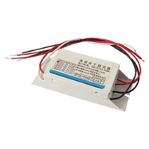 sourcingmap® Bianco Rettangolare 20W Fluorescente Luce Lampada Zavorra AC 220V