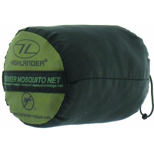 Highlander Trekker Mosquito Net – Olive/white
