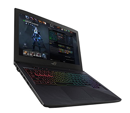 ASUS GL503VM-GZ128T ROG Strix HERO, MOBA Edition, 15.6-Inch Gaming Laptop (Intel i5-7300HQ, 8 GB RAM, 120 Hz 100 Percent sRGB Display, Nvidia GTX 1060 6 GB GPU, 1 TB FireCuda SSHD and 128 GB SSD, Full RGB Keyboard) - Black