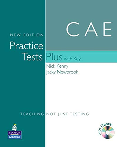 CAE Practice Tests(+[With Key and Audio CD]) (Practice Tests Plus) por Nick Kenny