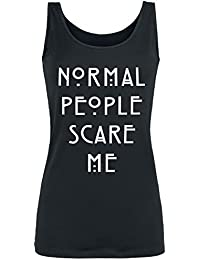 American Horror Story Normal People Scare Me Top Mujer Negro