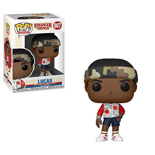Funko- Pop Vinilo: Stranger Things: Lucas Figura Coleccionable, (38530)