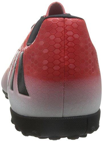 adidas Messi 16.4 Tf, Scarpe da Calcio Uomo Rosso (Red/core Black/ftwr White)