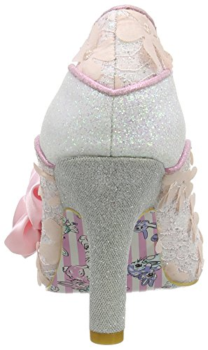 Irregular Choice Damen Peach Melba Pumps, Rose Pink (Pink)