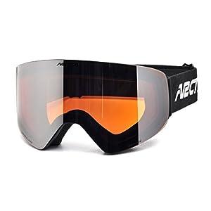 Arctica ® Ski- und Snowboardbrille G-108 mit Doppellinsensystem & Antifog-Behandlung