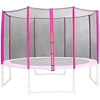 Preisvergleich für SixBros. Sicherheitsnetz Pink für Gartentrampolin 1,85 M - 4,60 M versch. Größen - SN-ON/1951 - Größe 4,60 m 5L